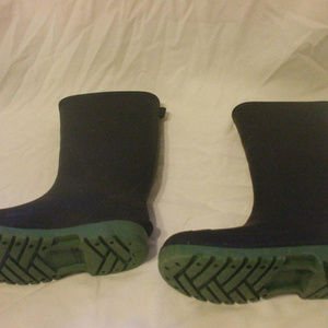 Other - Toddlers Black Rubber Boots Size 12
